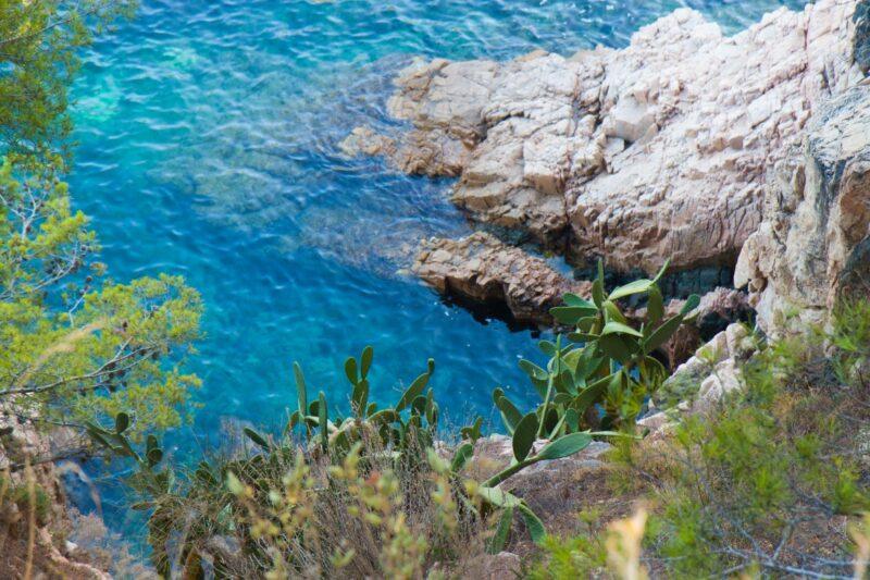 Stranden en baaien bij Begur.