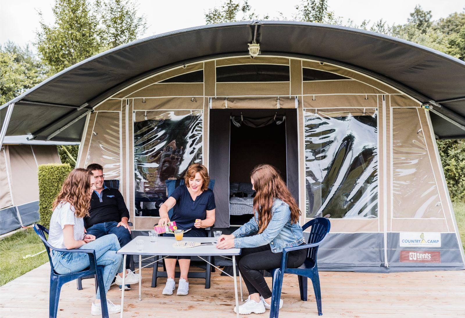country camp vakantie tent