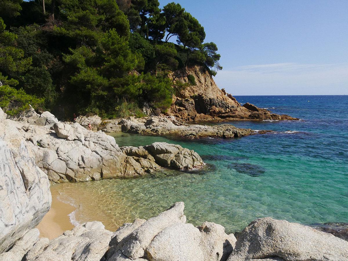 baaien en stranden rondomg Begur