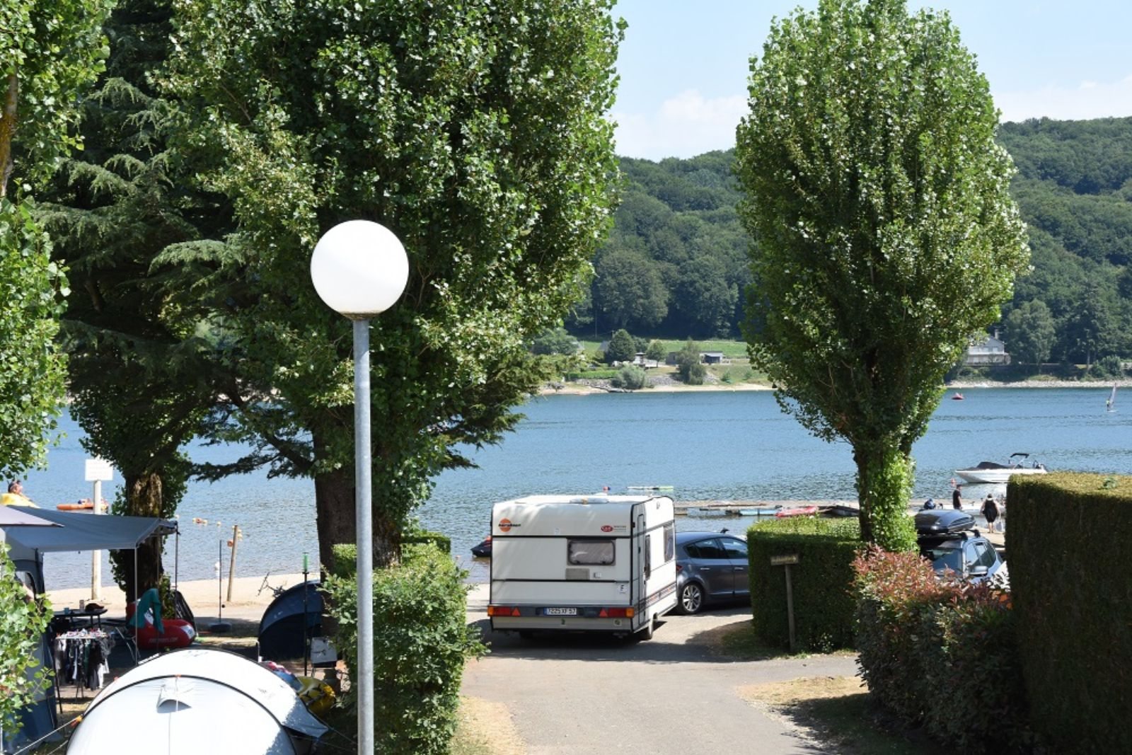 camping les genets water