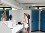 camping groenewoud toiletgebouw