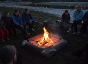 camping diana heide kampvuur