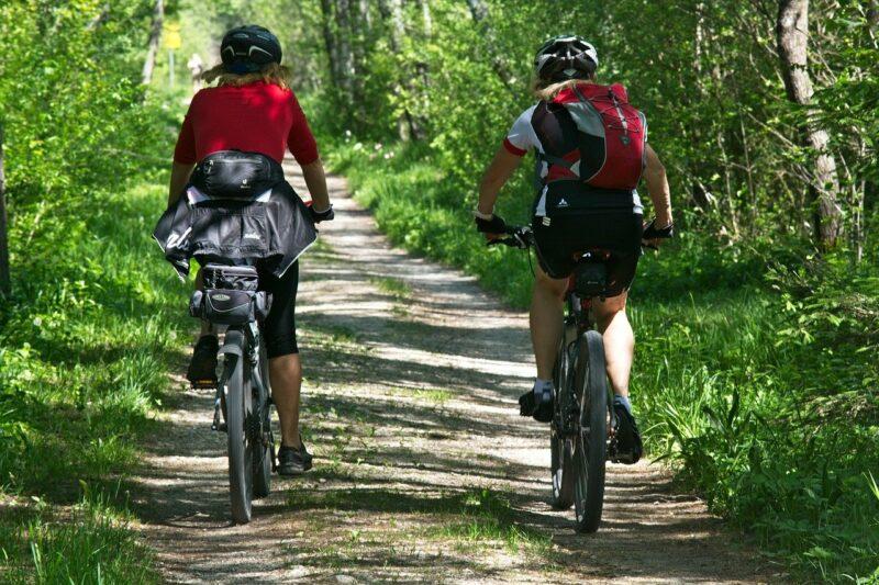 Mountainbiken vanaf camping Nommerlayen